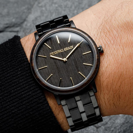 The Minimalist 40mm  - Ebony Gold