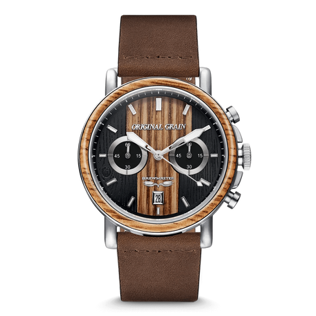 The Alterra Chronograph 44mm - Brewmaster™ Leather
