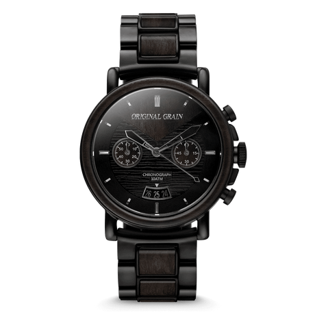The Alterra Chronograph 44mm - The BLACKWOOD