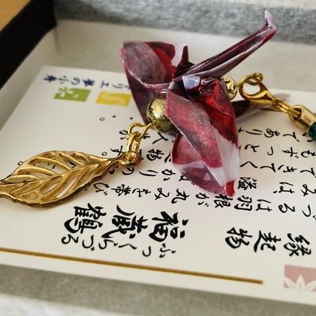 折り鶴ギフト 赤薔薇 バラ 箱入り