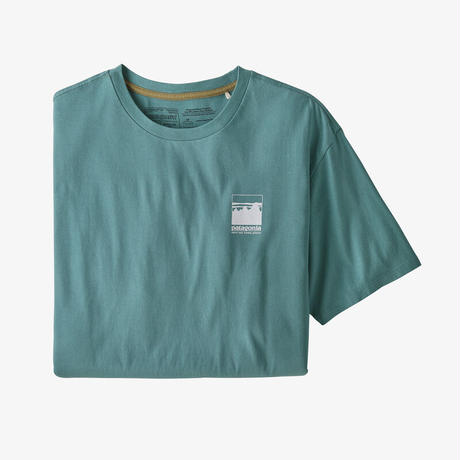 <patagonia>メンズ・アルパイン・アイコン・リジェネラティブ・オーガニックコットン・Tシャツ/UPBL