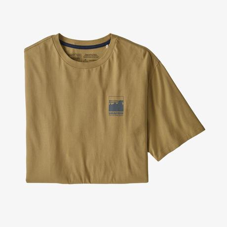<patagonia>メンズ・アルパイン・アイコン・リジェネラティブ・オーガニックコットン・Tシャツ/MOKH