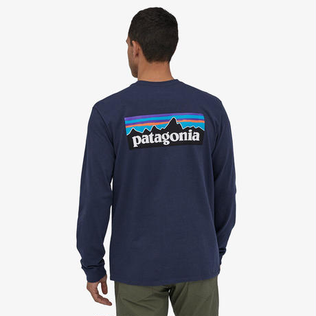 <patagonia>メンズ・ロングスリーブ・P-6ロゴ・レスポンシビリティー/CNY/Sサイズ