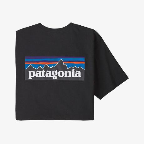 <patagonia>メンズ・P-6ロゴ・レスポンシビリティー/BLK
