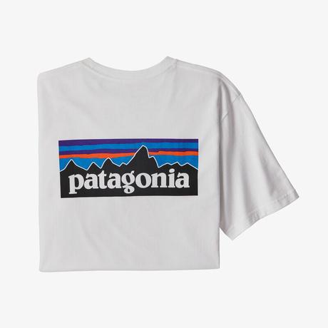 <patagonia>メンズ・P-6ロゴ・レスポンシビリティー/WHT