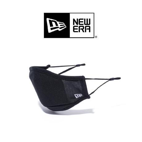 <newera>【MASK FACE COVERINGS マスク ロゴエンブロイダリー ブラック】 ニューエラ/ BLK