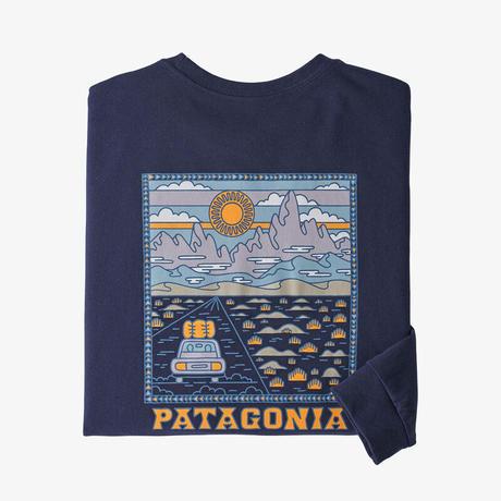 <patagonia>メンズ・ロングスリーブ・サミット・ロード・レスポンシビリティー/Sサイズ  / CNY