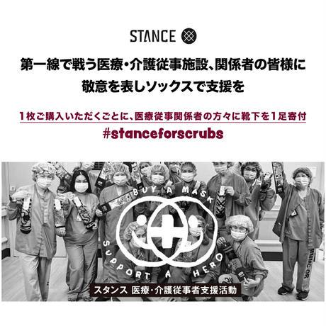 <STANCE> PIVOT MASK / BLACK