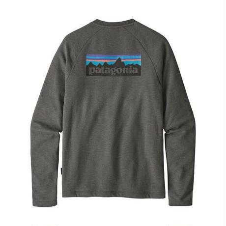 <patagonia>メンズ・P-6 ロゴ・ライトウェイト・クルー・スウェットシャツ/FGE/Sサイズ