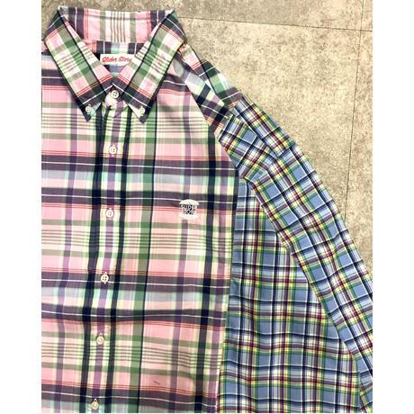 """sliderstore オリジナルリメイク""""大きくて四角いシャツ""""①"""