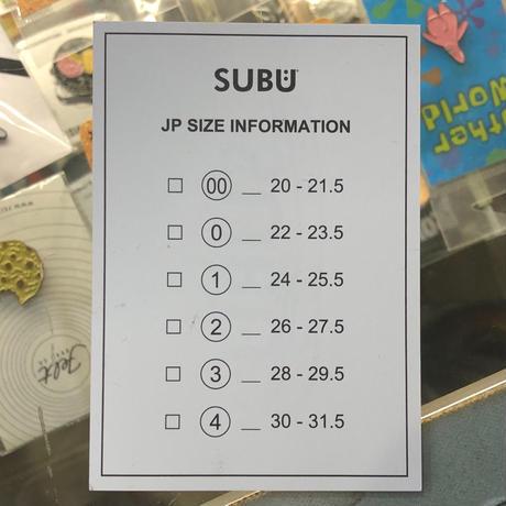 """SUBU """"冬サンダル"""""""