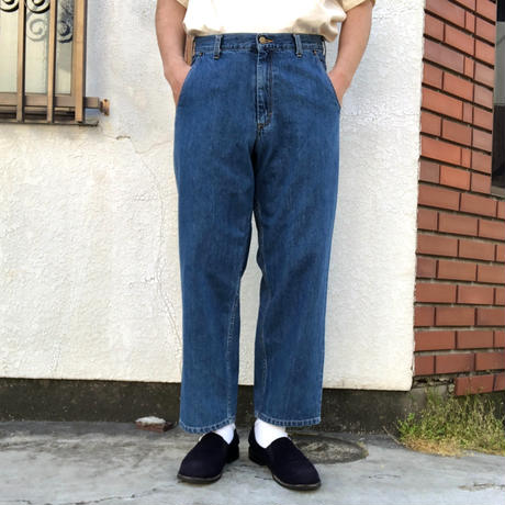 "CARAVAN  ""Calixico Denim""  -used blue-"