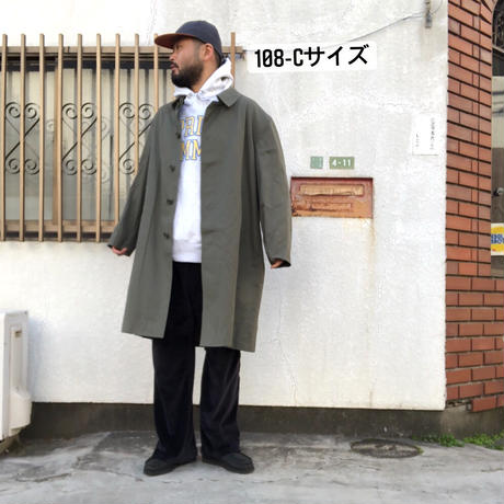 french army balmacaan coat   -90s deadstock-