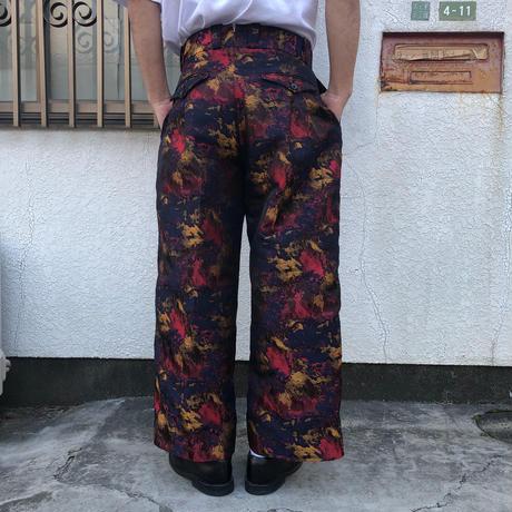 """根津洋品店  """"アブストラクトジャガードタンゴパンツ"""""""