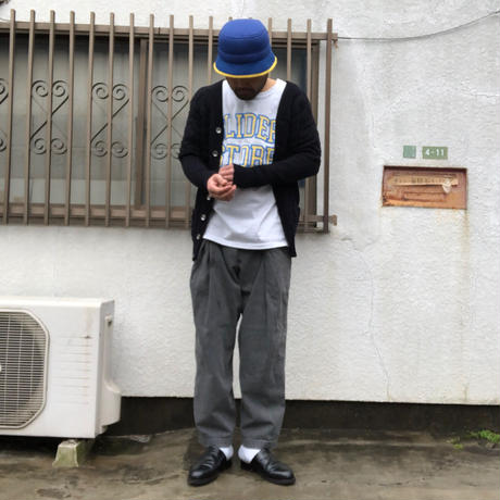 "relax fit by supermarket NorthPadreIslandPants ""アイスブラック/アイスブルー"""
