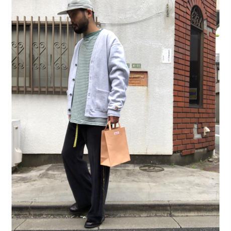 """""""紙袋のような革袋"""" slider ver. スタバ袋(B5型)"""