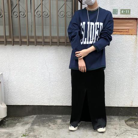 """オリジナル  """"SLIDER"""" ロングTee"""