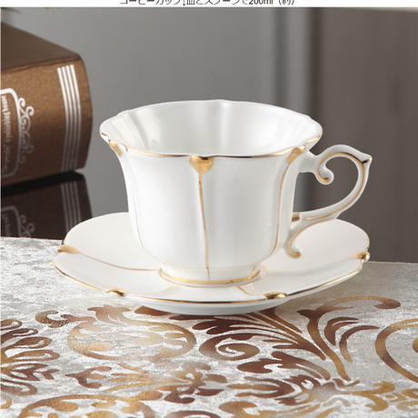 英国ゴールドパールボーンチャイナコーヒーセット英国磁器茶セットセラミックポットクリーマーシュガーボウルティータイムティーポットコーヒー 1カップ単品