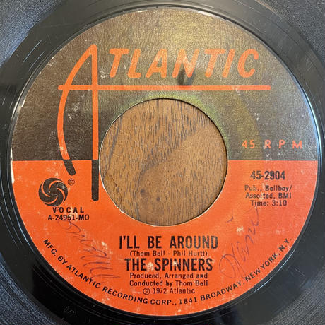 THE SPINNERS / I'll Be Around