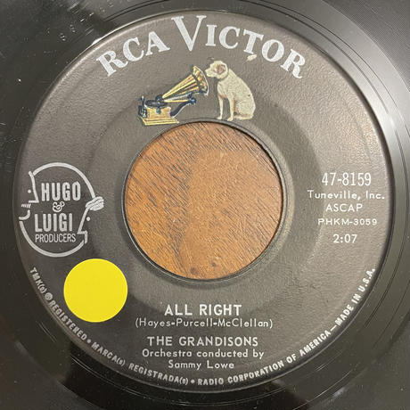 THE GRANDISONS / All Right