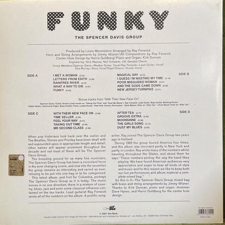 THE SPENCER DAVIS GROUP / Funky