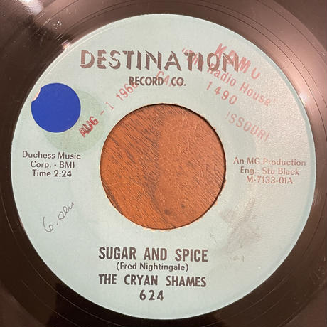 THE CRYAN SHAMES / Sugar And Spice