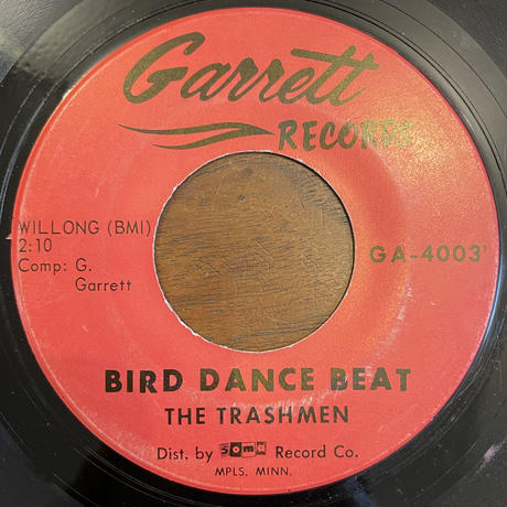 THE TRASHMEN / Bird Dance Beat