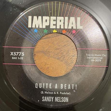 SANDY NELSON / Let There Be Drums