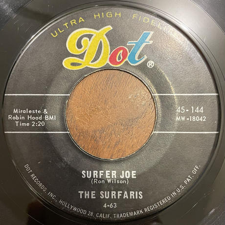 THE SURFARIS / Wipe Out