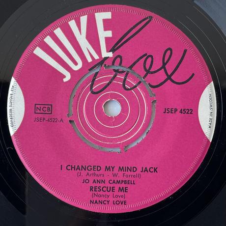 JO ANN CAMPBELL / I Changed My Mind Jack
