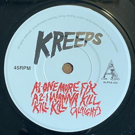 KREEPS / One More Fix