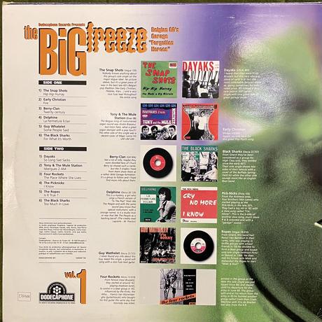"V.A. / The Big Freeze Vol. 1 (Belgian 60's Garage ""Forgotten Heroes"")"