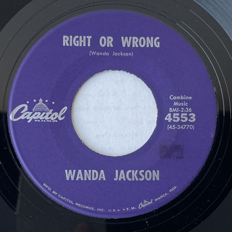 WANDA JACKSON / Funnel Of Love