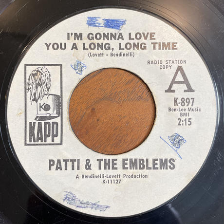PATTI & THE EMBLEMS / I'm Gonna Love You A Long, Long Time