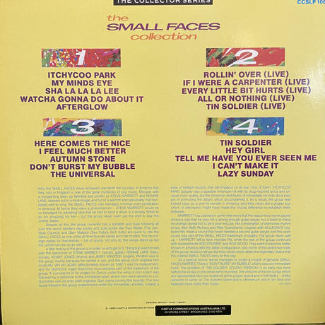 THE SMALL FACES / COLLECTION