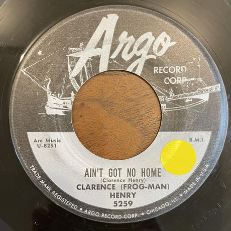 CLARENCE (FROG MAN) HENRY / Ain't Got No Home