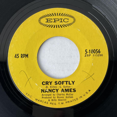 NANCY AMES / I Don't Want To Talk About It