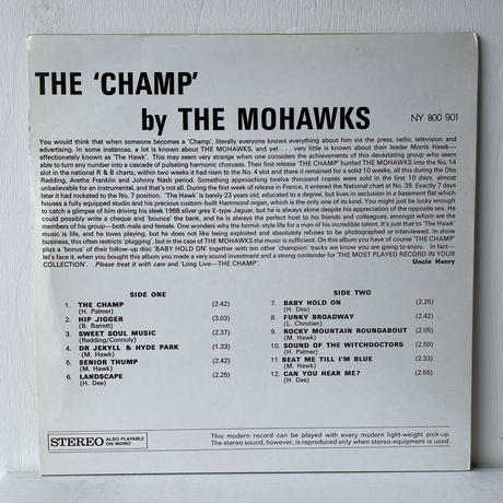 THE MOHAWKS / The Champ