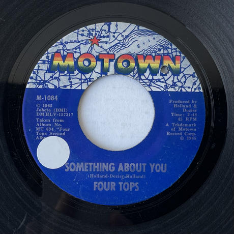 FOUR TOPS / Something About You
