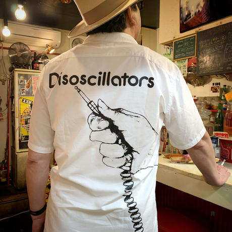 Disoscillators オープンカラーシャツ