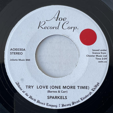 SPARKELS / Try Love ( One More Time)