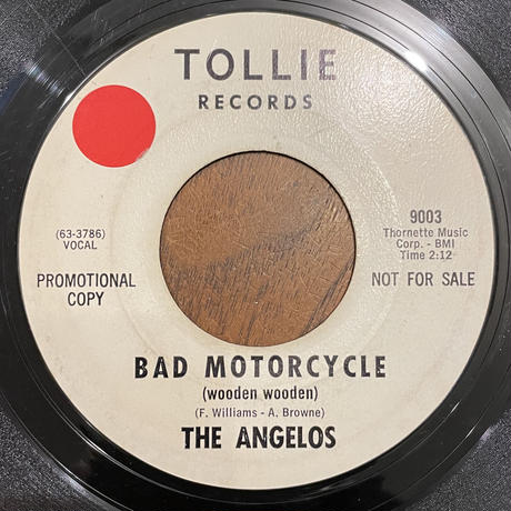 THE ANGELOS / Bad Motorcycle