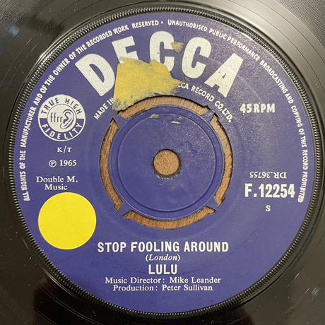 LULU / Stop Fooling Around