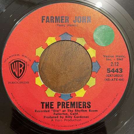 THE PREMIERS / Farmer John