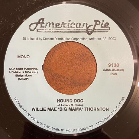 "WILLIE MAE "" BIG MAMA"" THORNTON / Hound Dog"