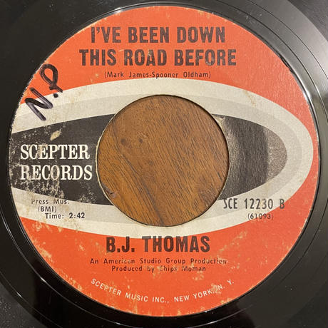 B.J. THOMAS / Hooked On A Feeling