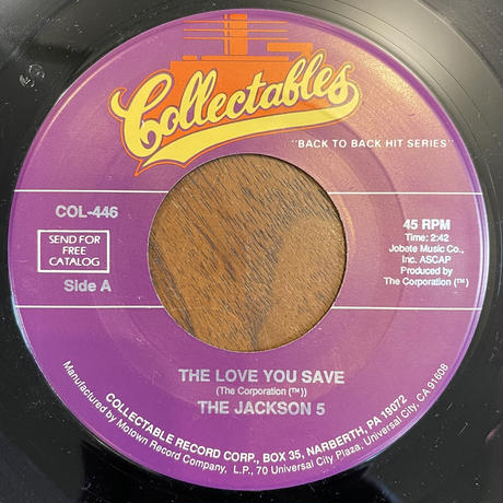 THE JACKSON 5 / The Love You Save / I'll Be There