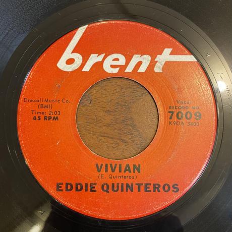 EDDIE QUINTEROS / Come Dance With Me