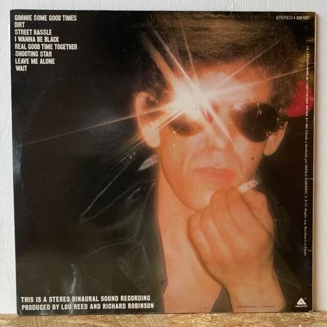 LOU REED / Street Hassle