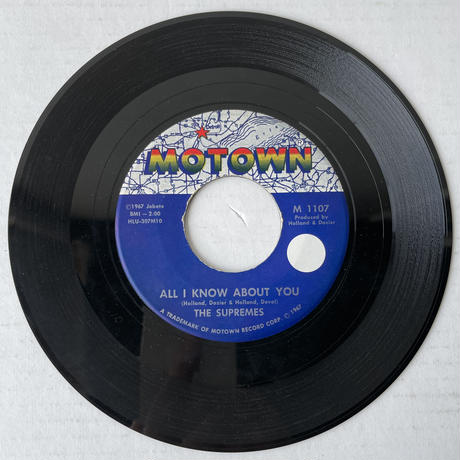 THE SUPREMES / All I Know About You